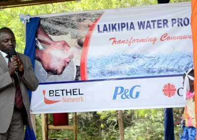 Laikipia Water Purification Project Launch